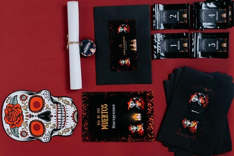 Набор домашнего квеста Santa Muerte